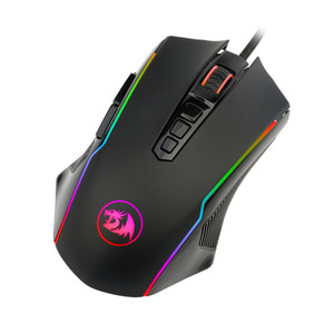 Redragon M910 Ranger Chroma Gaming Mouse with 16.8 Million RGB Color Backlit, Comfortable Grip, 9 Programmable Buttons, up to 12400 DPI