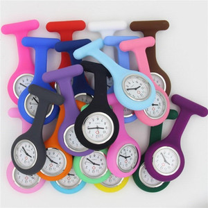 Silicone Nurse Watch Medical Cute Patterns Fob Quartz Watch Doctor Watch Pocket Watches Medical Fob Watches