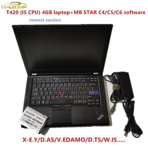 2020.12 Più nuovo software completo per MB Star C4 / C5 / C6 SSD / software HDD con per Lenovo T420 4 GB Laptop CPU MB Star C51