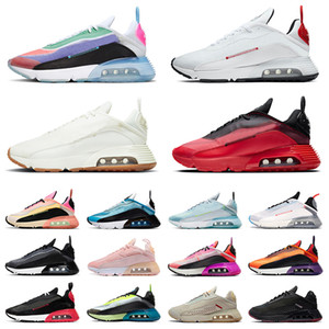 أحذية nike air max airmax 2090 BETRUE احذية جري حذاء رجالي نسائي نقي بلاتيني من الفوتون والغبار برايا غراندي أورورا أخضر وردي من الفوم لافا رانر للرجال