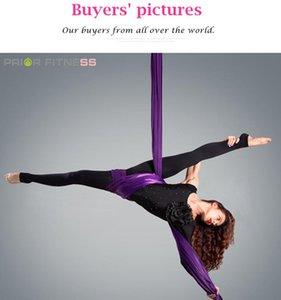 PRIOR FITNESS 20Meters Yoga Aerial Silks Fabric for Acrobatic Yoga swing Silk Dance Hammock