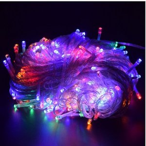 2020 holiday Led christmas lights outdoor 100M 50M 30M 20M 10M led string lights decoration for party holiday wedding Garland