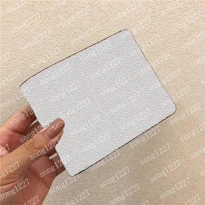 2021 Novo Bolso Curto Carteira Terno Wallet Zipper Venda Limitada Bolsa de cartão