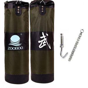 90 см Обучение фитнес Фитнес MMA Fighter Boxing Bag Howing Bag Spact Sand Punch Punching Bag Sandbag Saco Boxeo SQCQVF