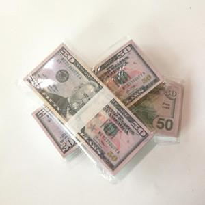 Riproduci Prop Money Euro Dollar Pound Bar Puntelli Giocattoli per bambini Giocattoli per adulti Gioco Adulto Puntelli Speciali Gioco di film Euro Dollaro Pound Stage Soldi
