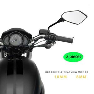 유니버설 먼지 구덩이 자전거 모토 크로스 파트 ATV 오프로드 오토바이 백미러 오토바이 액세서리 모토 미러 10mm 8mm 스크류 1