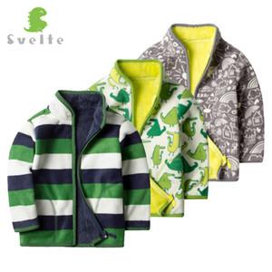 Svelte для осенью зима мальчиков мода фундамент мех толщиной флис теплый джакут пальто верхняя одежда детская одежда одежда enfant