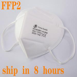 KN95 FFP2 CE маска FFP3 EU Whitelist N95 Mask Mask PM2,5 противотуманный туман и грипп Dustrop Mascarilla Maccherina многоразовый 5 слоев
