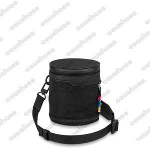 Mens 2054 Polochon 3D красочный крест мешок для тела Цветочные буквы дизайнеры Оксфорд Сумка сумка из нейлонового кошелька M45604 2054 Расширяющийся полихон