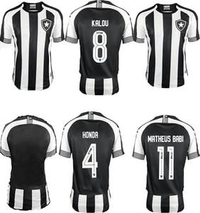 Nouveau Brasil Botafogo 20/21 Honda Football Jersey Luiz Fernando Diego Soccer Jersey A.Santana Cicero Home Uniforme Fans Shirt Camisa Botafogo