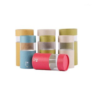 Xin jia yi emballage jouet cylindre personnalisé imprimé peut aller du papier rond can1