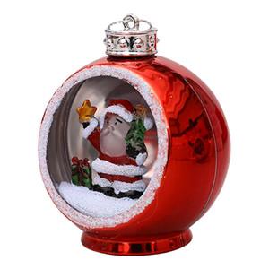 6 Style Christmas Lights Christmas Ornaments Electroplating Luminous Christmas Ball Lights Xmas Gifts LED Xmas Decorations PPD3314