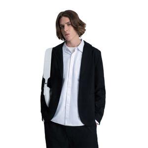Suit jacket Black blazer New black silhouette High Street suit American loose-fitting blazer loose High street boy