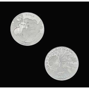 Rh Silver Plated 2019 Solomon Islands Koala 1ozag Commemorative Coins Collectibles For Collection Gifts Business Gifts F sqcAdf bdenet