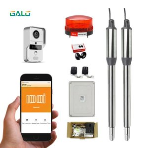 GALO Inward and Outward Automatic Swing Gate DOOR Opener Operator kits phone Video doorbell wifi controller Optional
