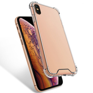 Transparent Shockproof Acrylic Hybrid Armor Hard Case for iPhone 12 pro Max 11 Pro XS Max XR 8 7 6 Plus phone case