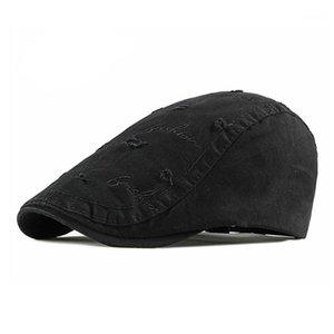 Erkek Casual Şapka Berets Bahar Yaz Autumn1 için Pamuk Caps