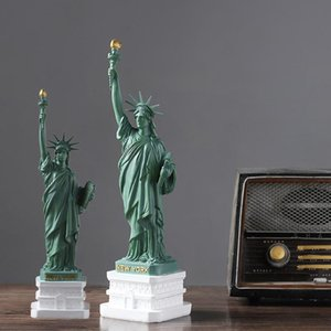 Nordic statue of liberty Ornaments gifts creative home living room porch bookshelf office craft wine cabinet decoration Artwork