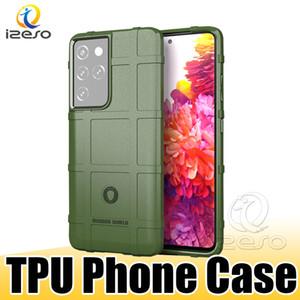Чехол для Samsung S21 A72 5G A21S A11 EU HUAWEI MATE 40 Lite 4G NOVA 7SE TPU Антитодовый мобильный телефон задний чехол Izeso