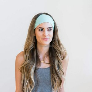 Gym Work out Fitness cycling Running head bands Yoga sport headband sweatband hood for women men will and sandy fashion