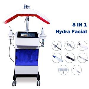 Hydro Dermabrasion Facial Machine Oxygen Jet Peel Hydro Lift Face MicroderMabrasion Hydrafacial MD Skin Pulito Attrezzature di bellezza