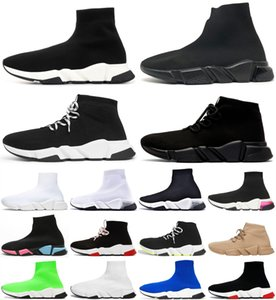 Bianco 2020 Velocità Casual Sports Platform Platform Socks Mens Sneakers Womens Top Trainers Nero Stretch Scarpe Tripler Zapatos Boots Rosso