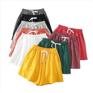 Muyogrt 9 Color Loose Shorts Women Summer Pockets Drawstring Shorts Casual Soft Workout Running Homewear Plus Size 2XL