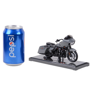 Maisto 1:18 CVO Road Strada Glide Die Cast Veicoli da collezione Hobby Motorcycle Model Toys Q1214