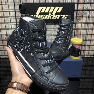 Top Quality B22 B23 Oblique Moda Sneakers High Low top Obliques Vintage Luxurys Designers Sapatos Womens Outdoor Platform Calçados Casuais