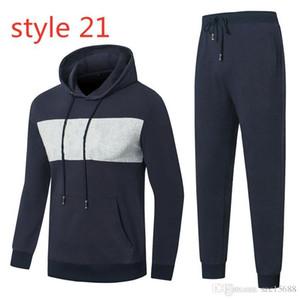 Italia Brand Designer Designer Tracksuiti Sport Suit Stripe Mosaico Autunno Autunno Autunno Sport Abiti da uomo Abiti da uomo Casual Wear Youth Trend Abbigliamento sportivo