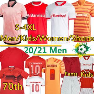 Brésil Sport Camisa SC Innacional Soccer 4GG XL Jerseys Guerrero T.Galhardo d'Alessandro Men Femmes Kid Masculino Feminino Football