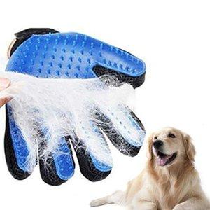 Hund Haustier Pflege Handschuh Silikon Katzen Bürstenkamm Desjedding Haarhandschuhe Hunde Bad Reinigungsmittel Tierkämme von Prostormer