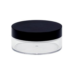 1PC 50G بلاستيكية فارغة بودرة وعاء مع المنخل مستحضرات التجميل ماكياج جرة الحاويات سفر إعادة الملء عطر مستحضرات التجميل المغربل BWD3042