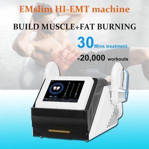 Hiembe Renascult Emslim Bâtiment de muscle électromagnétique Machine de combustion de graisse Teslascult Emsculpting Dispositif pour utilisation du salon