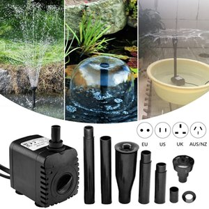 Rockery Brunnen Sauerstoffpumpe Garten Wasserpumpe Aquarium Wasserbrunnenpumpe Aquarien D30 Y200922