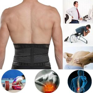 Lumbar Support Waist Adjustable Pain Back Supporting For Fitness Safety Sports Corrector Brace Belts Weightlifting E8A3