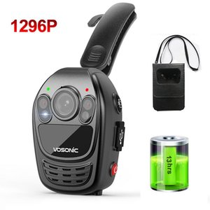 Awesome Cool Pocket FHD 1296P Body Camera Cam CAM Wearable DV DVR Security DV indossato Camcorder Night Vision Motion Detection