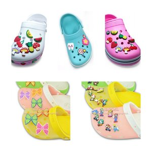 Soft Mouth Charms Moq=2lots Shoe Gesture For Shape PVC Croc Jibitz Rubber Accessories Charms Wholesale Promotional Thtof