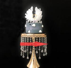 2020 хрустальный свадьба высокая торт подставка для торта кекс наборы Macaron дисплей торт поднос свадьба десерт кастрюля таблица центральные украшения