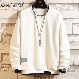 CHAIFENKO Fashion Brand Men Pullover Sweatshirts 2020 Spring Autumn Harajuku Men Sweatshirts Hoodies Hip Hop Streetwear Hoodie