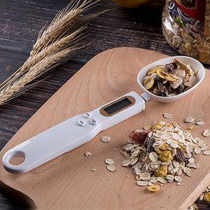 500g / 0.1g Preciso Digital Measuring Spoons Cozinha Colher de Medição Gram Eletrônico Colher com LCD Display Kitchen Scales IIA926