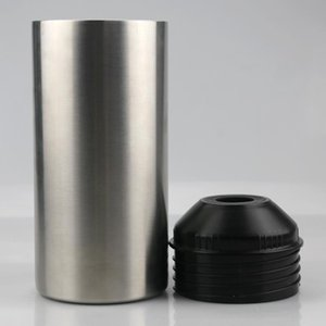 25oz Bottle Cooler with Lid Stainless Steel Coolers for Red Wine Double Layer Insulated Vacuum Cool Can Solid Color Bar Tool DHD2295