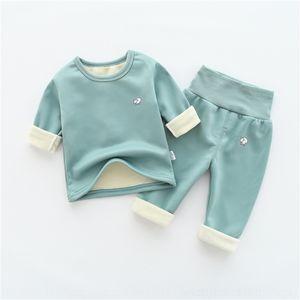 efwa costume bébé confortable loisurants D5OX9 coton nouveau automne fille Stripe Tenues CASL usure de haute qualité Pyjamas Toddler printemps