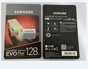 8G / 16GB / 32GB / 64GB / 128GB / 256GB Original Samsung Evo + Plus Micro SD Cartão U3 / Smartphone TF Card C10 / Tablet Pc Cartão de armazenamento 95MB / s