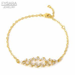 Stylish Crystal Beads Bracelet Bangles For Women Men Boho Jewelry Best Friend Gifts Charm Gold Link Chain Gift Jewelry sqcRTz