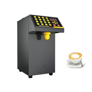 New 16-cell quantitative fructose machine, automatic fructose dispenser, syrup dispenser, milk tea shop, milk tea equipment and machine