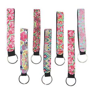 Neopreno llavero llavero bolso adornos adornos decoraciones salvajes accesorios pequeño colgante llave barra regalos suministros minoristas OWB4667