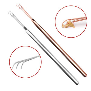 Stainless Steel Ear Pick Cleaner Portable Dig Tools Earpick Ear Spoon Ear Health Care Cleaning Tool