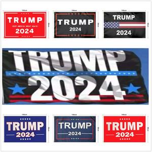 150 * 90CM ترامب العلم 2024 العلم الانتخابات بانر دونالد ترامب الحفاظ على أمريكا عظيم مرة أخرى 10 أنماط البوليستر العلم DDA831