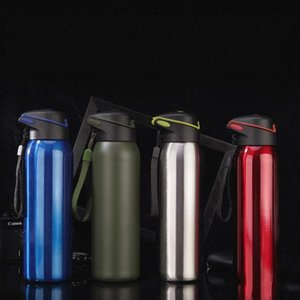 Novelty Straw Mug Stainless Steel Insulated Cup Delicate Water Bottle Multi Color Outdoor School Camping Drinking Tools 25yx ii